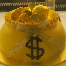 Golden Cake by Dennis  Ng - Food & Drink Candy & Dessert (  )