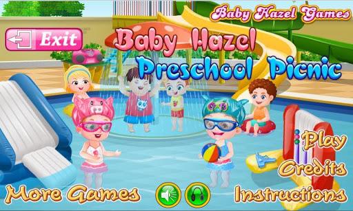 Baby Hazel Preschool Picnic - screenshot