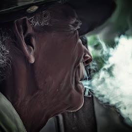 Smoker by Dedi Gunawan - People Portraits of Men