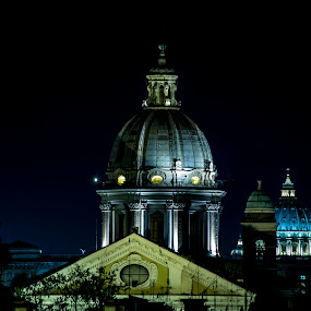 Rome basilicas by Claudiu Bichescu - Buildings & Architecture Places of Worship ( roma, rome, dome, etc., basilica )