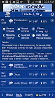 Screenshot of KATV Channel 7 Weather
