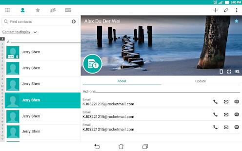 ZenUI Dialer & Contacts- screenshot thumbnail