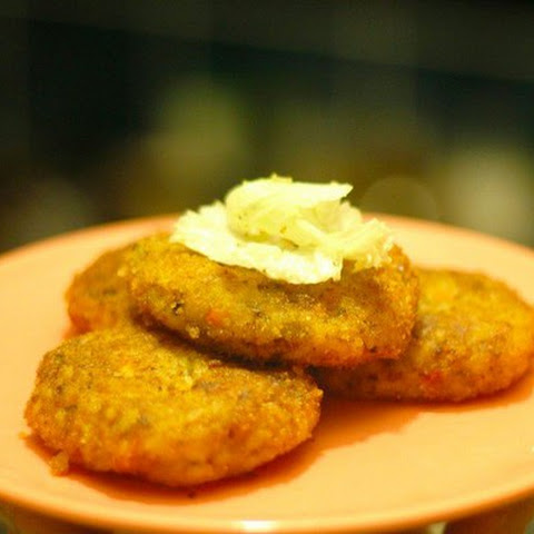Potato Patties With Rice