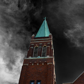 St. Al by Stacey Legg - Buildings & Architecture Places of Worship ( religion, churches, architecture, manipulation )