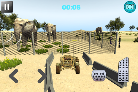 Jungle Monster Buggy Parking - screenshot