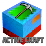 Active Craft: Explore Cube World Icon