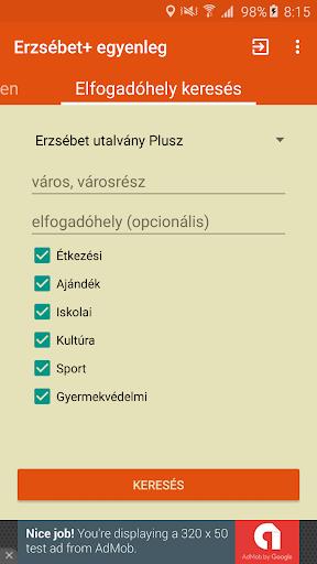 Erzsébet Plusz (nem hivatalos) - screenshot