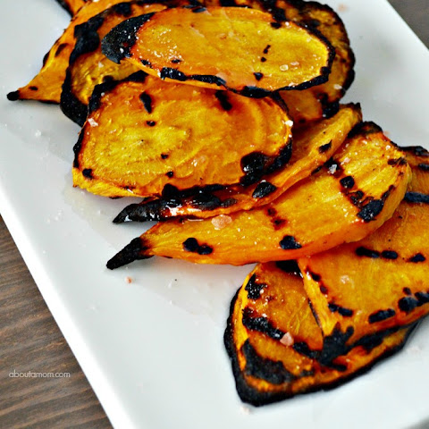 Grilled Golden Beets