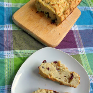 Cranberry Cardamon Loaf Cake