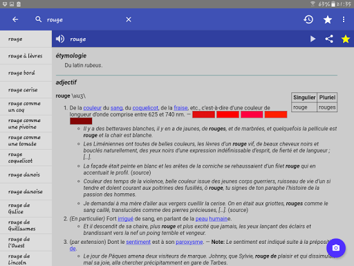 French Dictionary - Offline screenshot 10