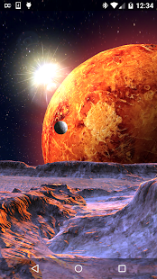 Planet X 3D Live Wallpaper - screenshot