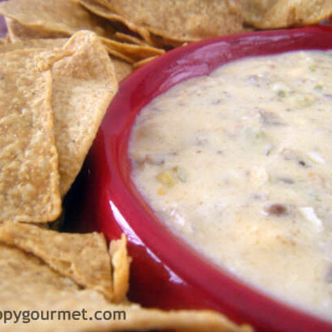 (Slow Cooker) Spicy Sausage & Beer Cheese Dip