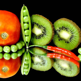bi coloured by SANGEETA MENA  - Food & Drink Fruits & Vegetables