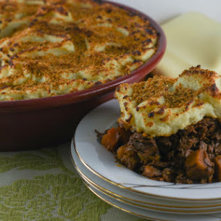 Shredded Brisket Cumberland Pie