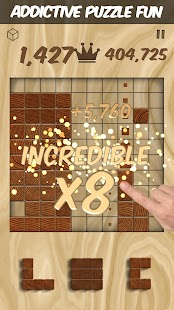 Woodblox Puzzle - Wood Block Wooden Puzzle Game Screenshot