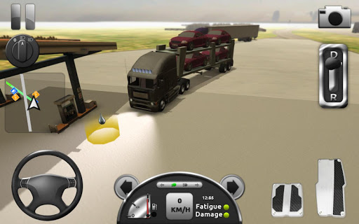 Truck Simulator 3D screenshot 4