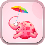 Cute Pink Girly Backgrounds Icon