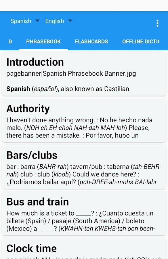 Learn with Talking Translator Screenshot 2