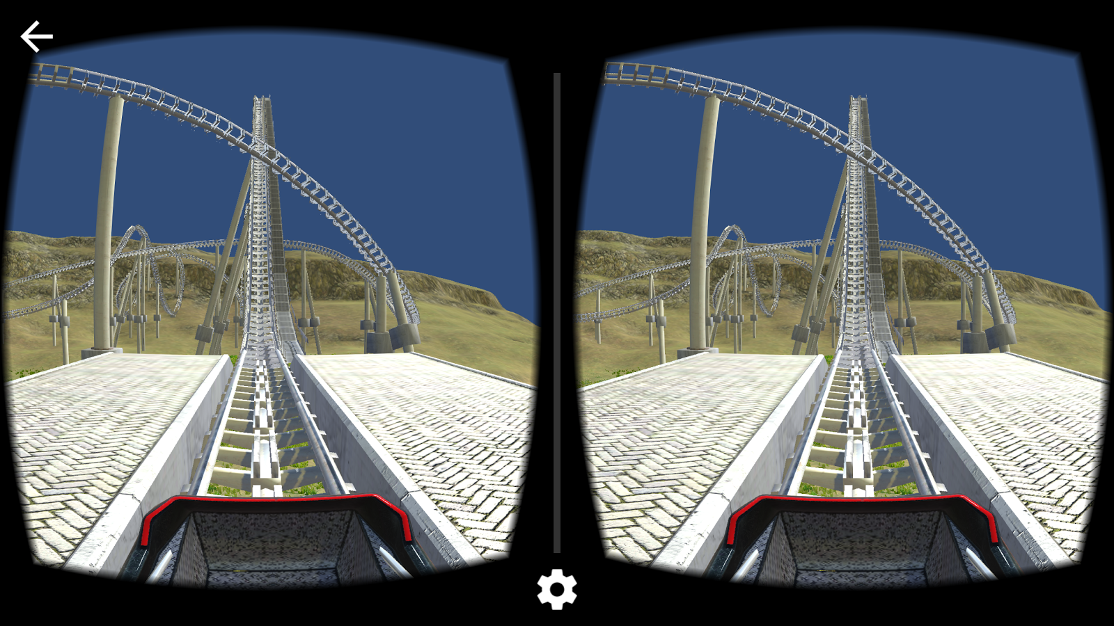 Cardboard VR 3D Roller Coaster Screenshot 8