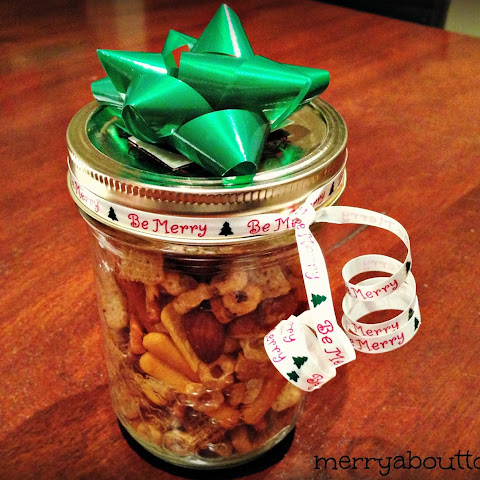 Nuts & Bolts Snack Mix - A Great Homemade Christmas Gift