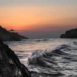 Tenby  by Philip Jones - Landscapes Sunsets & Sunrises