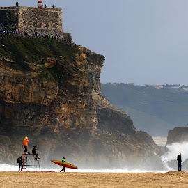 Go surfing by Gil Reis - Sports & Fitness Other Sports ( beaches, nature, sports, nazare, sea, portugal, surf, people )