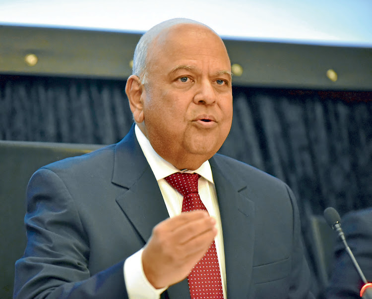 Pravin Gordhan: SA is at its fiscal limit. Picture: FREDDY MAVUNDA