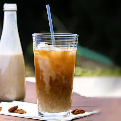 Butter Pecan Dairy-Free Iced Coffee