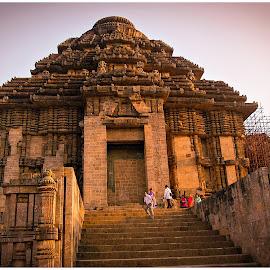 Konark Temple Entrance by Prasanta Das - Buildings & Architecture Public & Historical ( temple, konark, world heritage, entrance )
