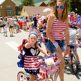 bike Parade Dillon Colorado .... mommy and me by Kellie Jones - Public Holidays July 4th (  )