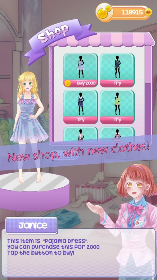 Gabby's Diary 2 love & dressup Screenshot 1