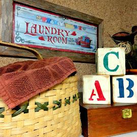 Laundry Day! by Ada Irizarry-Montalvo - Artistic Objects Still Life