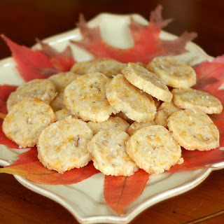 Cheese and Walnut Crackers~