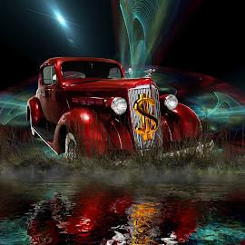 by Marinero Landloper - Digital Art Abstract