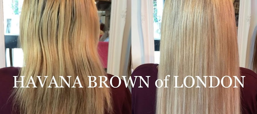 Hair extensions Kent Havana Brown