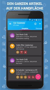 Auto Kosten - Car Expenses Pro Screenshot