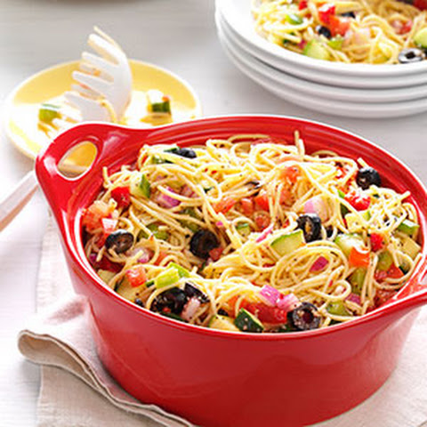 Zesty Tortellini Bacon Vegetable Salad Recipe | Yummly