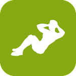 Sit Ups Abs Workout Icon