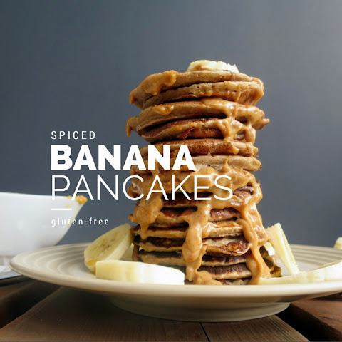 Banana Spiced Pancakes