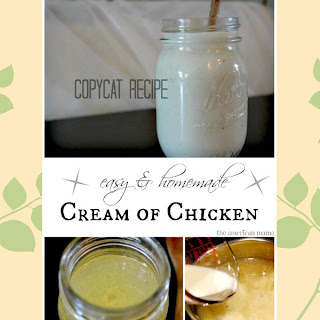 "Homemade ""Campbell's"" Cream of Chicken Condensed Soup"