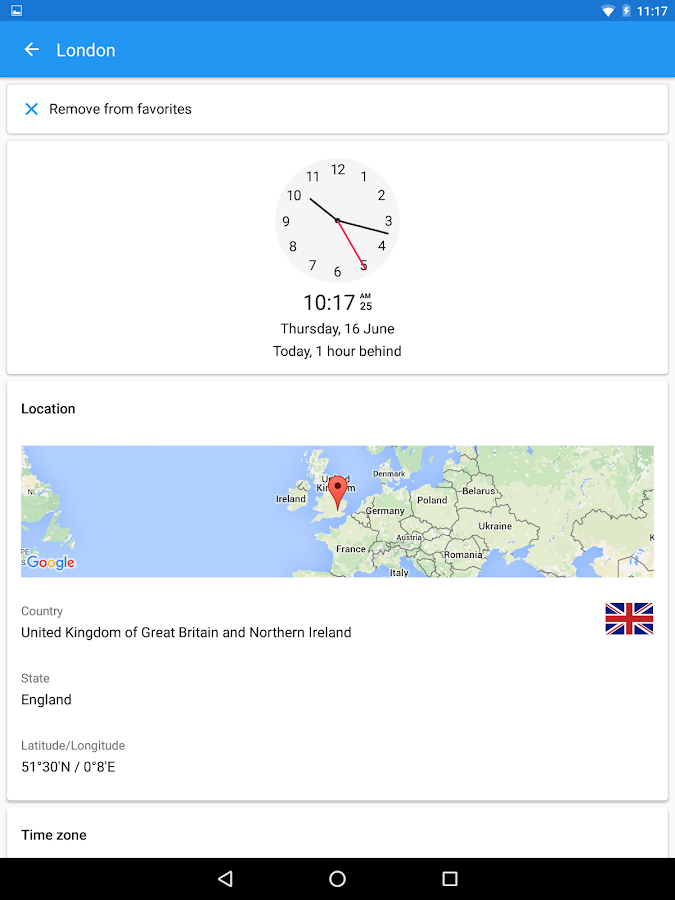 World Clock by timeanddate.com Screenshot 11