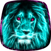 Neon Tiere Live Hintergrund