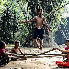 The kampung boy by Deny Satria - Babies & Children Children Candids