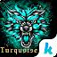 Download Turquoise Emoji Keyboard Theme APK