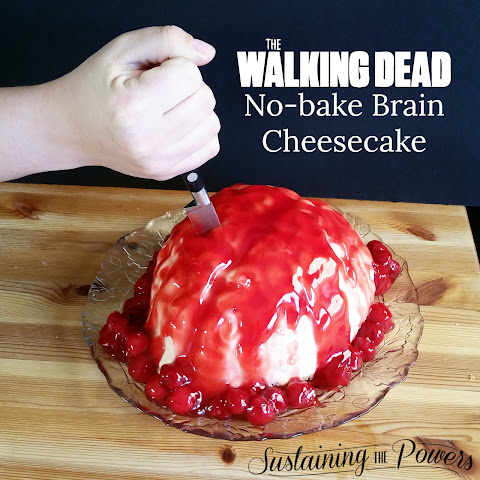 Walking Dead Brain Cheesecake
