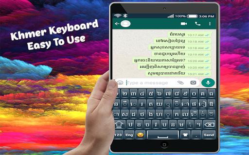 Izee Khmer Keyboard screenshot 9