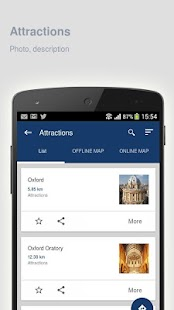 Oxford: Offline travel guide - screenshot