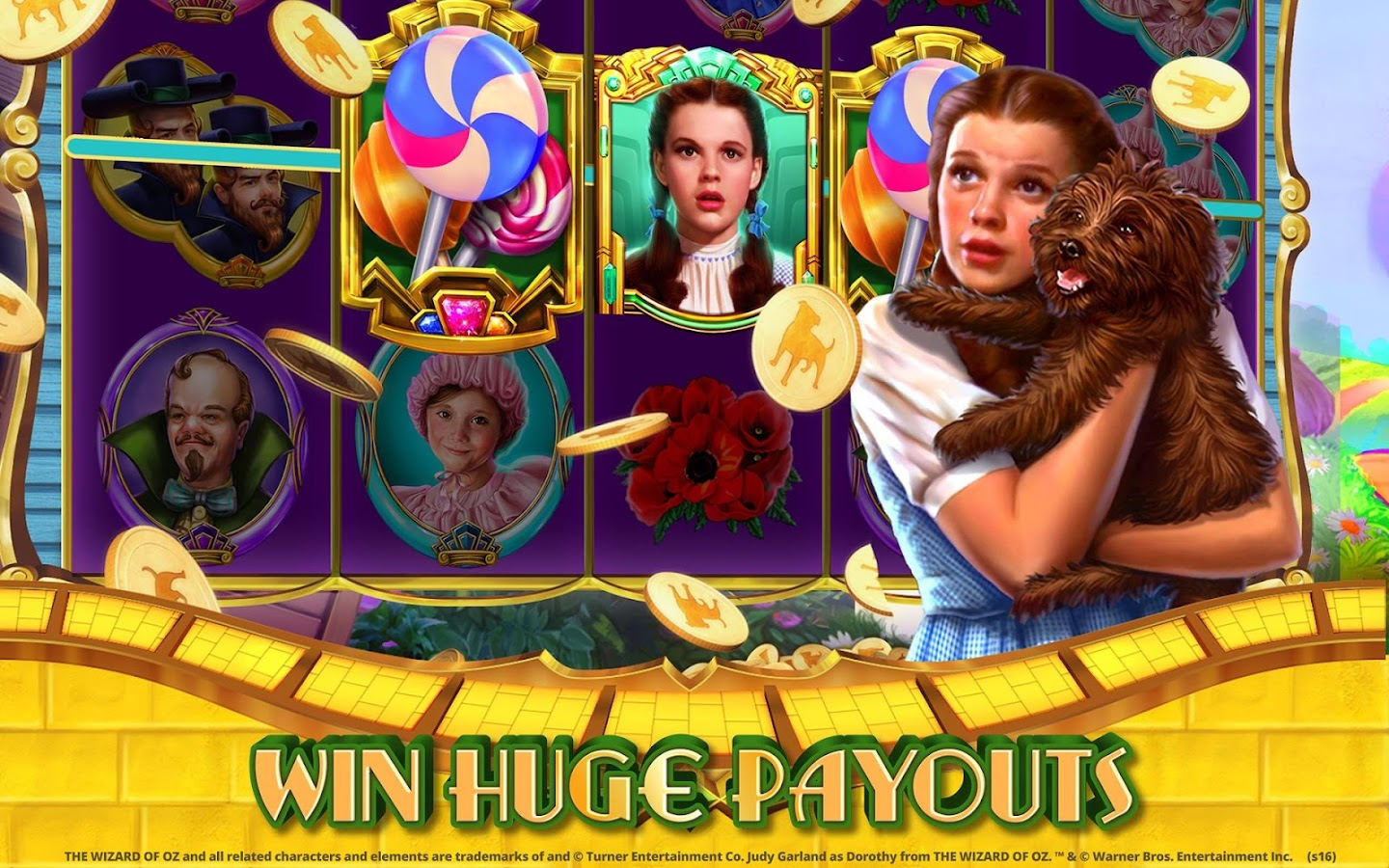 Wizard of Oz Free Slots Casino Screenshot 10