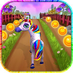 Unicorn Run - Fun Running Game Icon