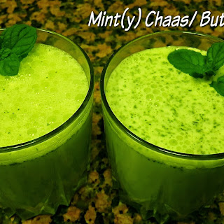 Mint(y) Chaas / Buttermilk